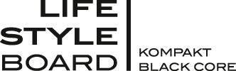 Lifestyleboard Kompakt Black Core