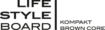 Lifestyleboard Kompakt Brown Core